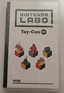 Labo Toy-Con 01/02/03&04 CART ONLY (Nintendo Switch, 2018)