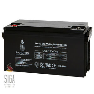akku 12v 80ah agm gel solarbatterie wohnmobil boot. Black Bedroom Furniture Sets. Home Design Ideas