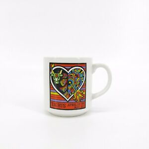 Vintage-Taurus-Astrology-Sign-Made-in-Japan-Coffee-Cup-Mug