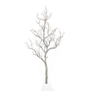 Dekozweig-Alltime-Kunststoff-silber-Hoehe-71-cm-Tischdeko-Weihnachten-Dekoast