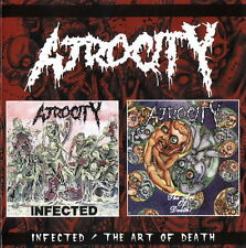 ATROCITY - Infected/The art of death CD (PowerAge, 2001) *rare OOP