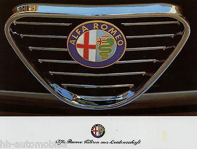 Alfa Romeo Prospekt 1988 Spider 75 1,8 Turbo Twin Spark 33 Giardinetta 4x4 Auto