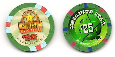 PLAYBOY Poker Chip Green. Uncirculated