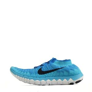 various styles free shipping sells Details about Nike Free 3.0 Flyknit Men's Running Shoes Photo Blue/Black