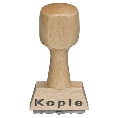 "Stempe Holzstempel Gefaxt Lagerstempel Bürostempel Textstempel Holz /""Gefaxt/"""