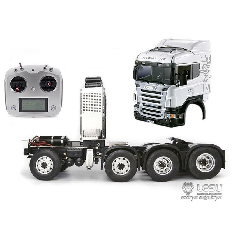 LESU fai da te HERCULES Scania CAB 1 14 RC  Camion Trattore telaio di mettuttio i6S Motor ESC  in cerca di agente di vendita