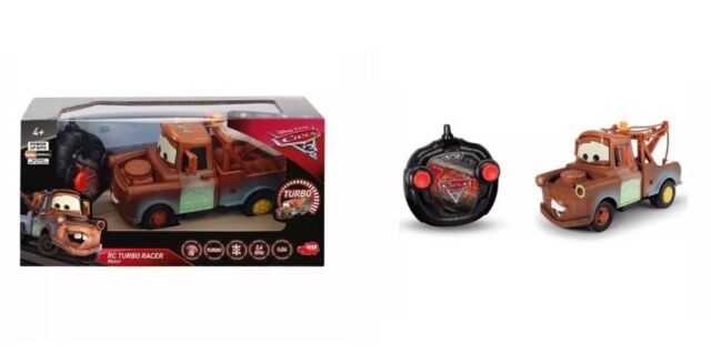 Children's Toy Disney Cars3 Remote Control Turbo Racer  Mater NEW Ideal Toy Gift