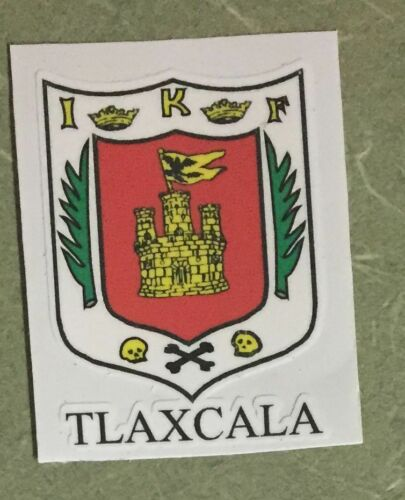 PCS Tlaxcala  Mexico Coat Of Arms Decals Stickers Full Color//Weather Proof 2