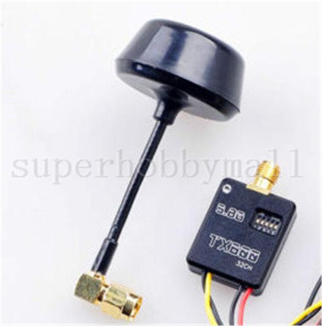1X 5.8G 600mW 32CH Radio Transmitter for Gopro hero3/4 Mobius 808 SJ4000 Tdtb