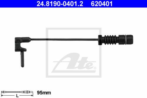 Beläge +WK Vorderachse für MERCEDES-BENZ S-CLASS ATE Bremsscheiben VA W140