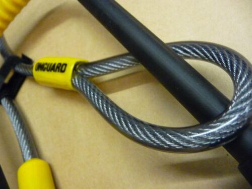 OnGuard Pitbull DT U-Lock /& Cable Shackle D U Lock GOLD SOLD SECURE Bike 8005