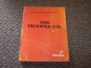 1996 Isuzu Trooper SUV Electrical Wiring Diagram Manual ...