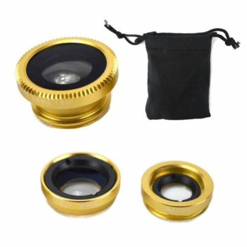 3 in 1 Aluminum Camera Lens for Smartphone