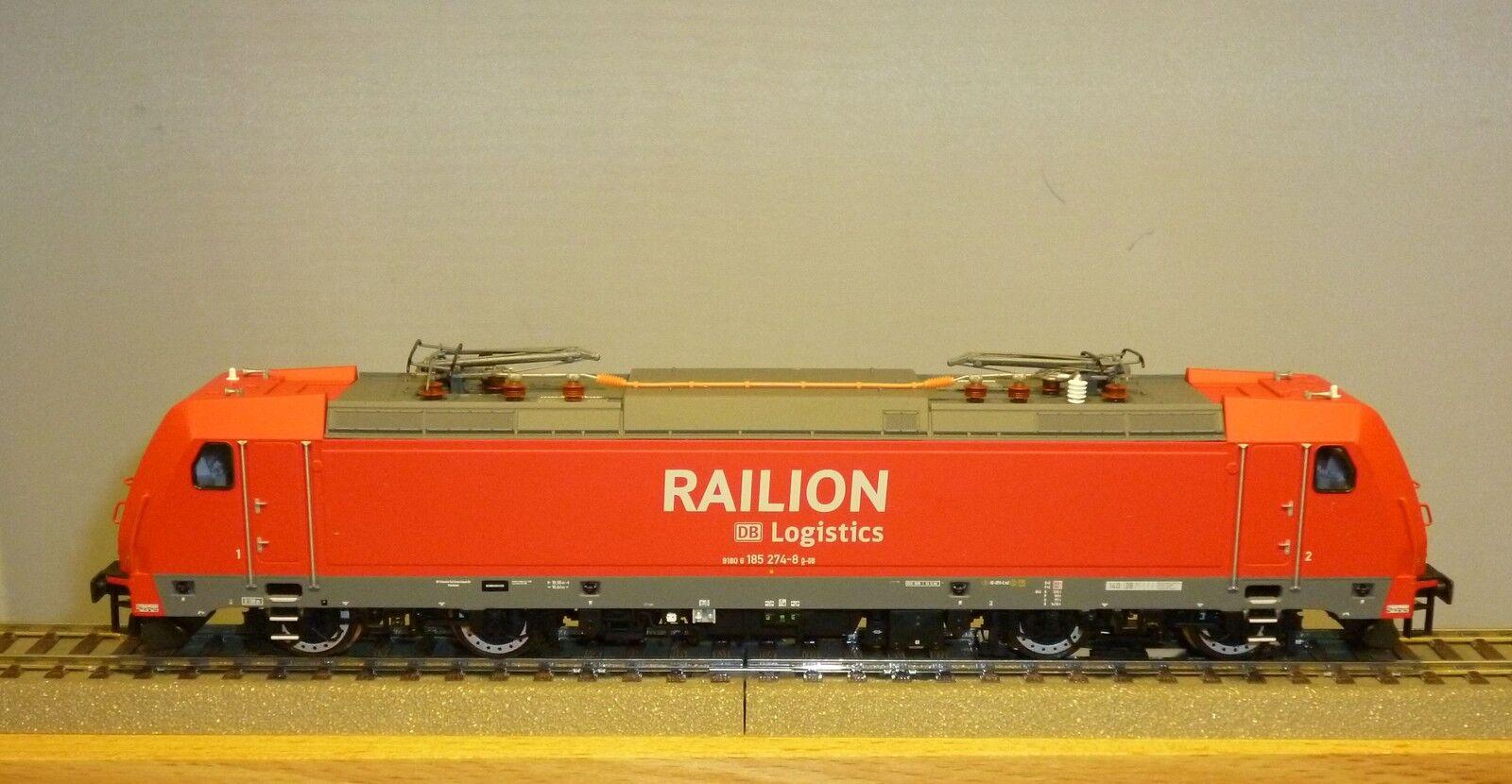 Brawa H0 43925 Electric Locomotive Br 185.2 Db Ag Ep.6 Digital Ac New & Original