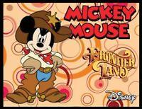 Mickey Mouse Fridge Magnet 1 Logo 9. 4 X 5. Disney Cartoons.....free Ship