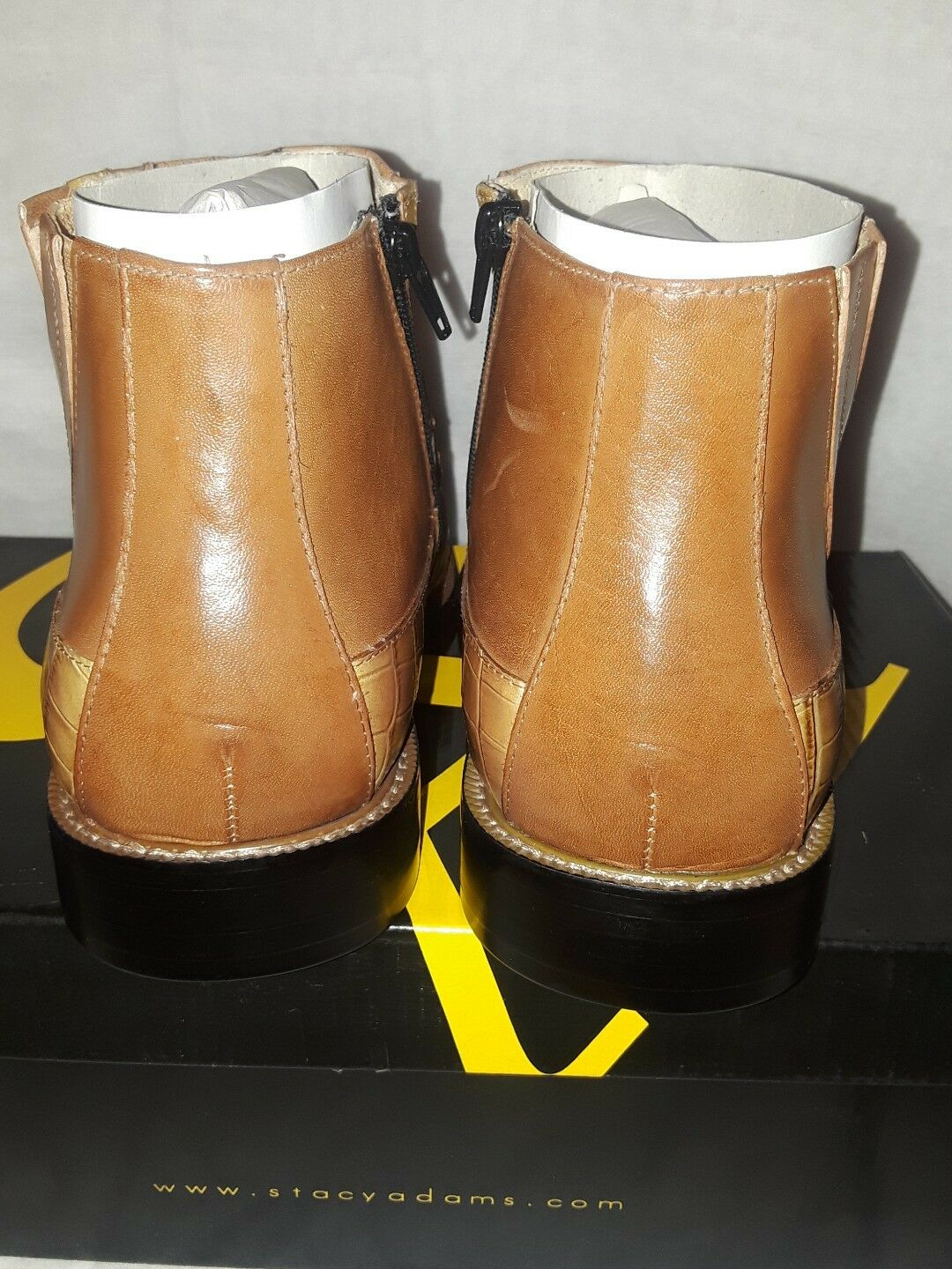 Stacy Adams Ankle Ankle Ankle Stiefel Mustard braun 10.5 e4d253
