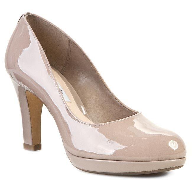430be5b2241 Clarks Crisp Kendra Shingle Patent Leather ladies heels 37 - 8 42 D ...