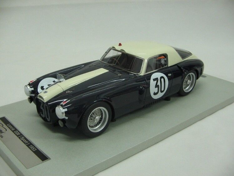 1953 Lancia D20 24 Hours Le Mans Resin Model in 1 18 Scale by Tecnomodel