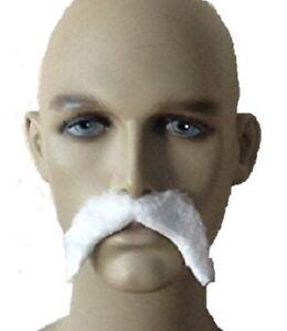 White Wizard Fancy Dress Moustache
