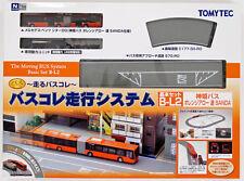 Tomytec Moving Bus System Basic Set B-L2 Shinki Bus Orange Arrow SANDA (N scale)