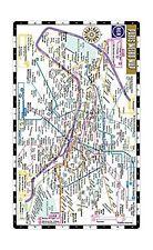 Michelin Streetwise Maps Ser Streetwise Paris Metro Map By Michelin 2018 Sheet Map Folded For Sale Online Ebay