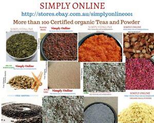 Certified-Organic-HERBAL-TEA-Premium-Range-100g-Dried-Herbs-Best-Quality