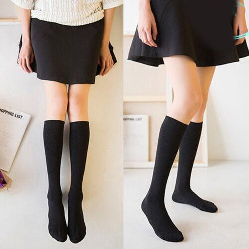 Fashion Women Over Knee Socks Cotton Velvet Stocking Knee High Stretchy Stocking