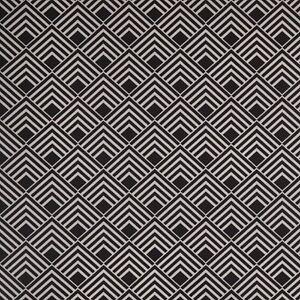 Stoff-Baumwolle-Swafing-Leona-beschichtet-Quadrate-schwarz-150-cm