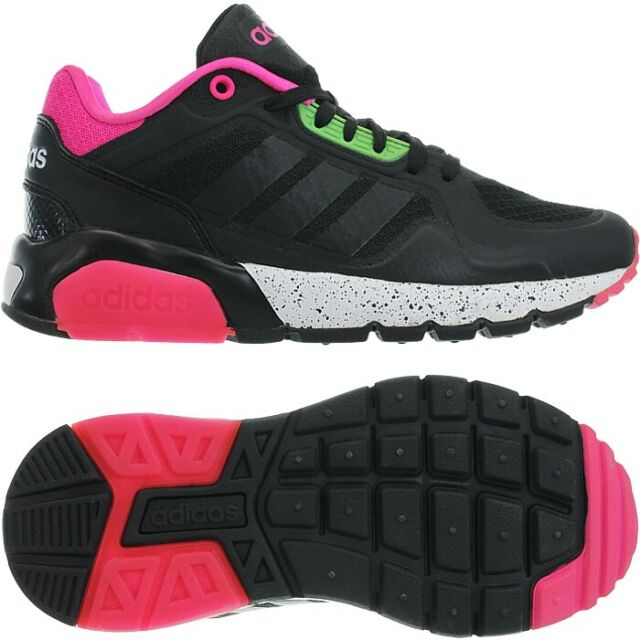 huge selection of eebc6 34cad Adidas RUN9TIS TM W black pink women s low-top sneakers shoes trainers NEW