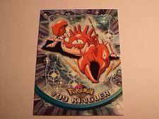 #99 Kingler - 2000 Topps Pokemon Series 2 Official Trading Card Blue Logo