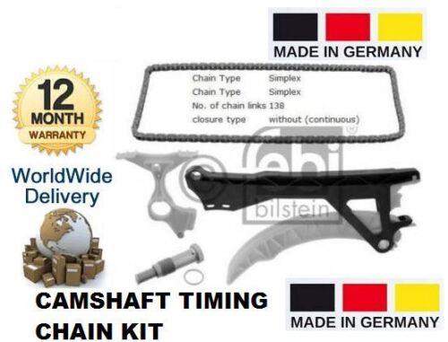 FOR BMW 1 SERIES 1.6i 2004-2012 E81 E87 N45 NEW CAMSHAFT TIMING CHAIN KIT OE