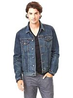 Brand Gap Men's Heritage Dark Tint Wash Denim Jacket Sizes M-l