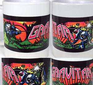 Gravitar Arcade Ceramic Coffee Cup Mug 11oz Atari Arcade NEW