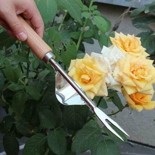 Manual Homes Garden Hand Weeder Stainless Manual Weed Puller Bend-Proof