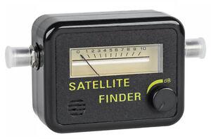 pointeur de satellite analogique r glage parabole antenne orientation satfinder ebay. Black Bedroom Furniture Sets. Home Design Ideas