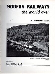 BOOK  MODERN RAILWAYS THE WORLD OVER 1964 - Carshalton, United Kingdom - BOOK  MODERN RAILWAYS THE WORLD OVER 1964 - Carshalton, United Kingdom