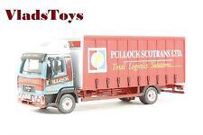 Oxford Haulage 1/76 MAN L2000 Curtain Side Truck Pollock Scotrans Ltd. 76MAN001