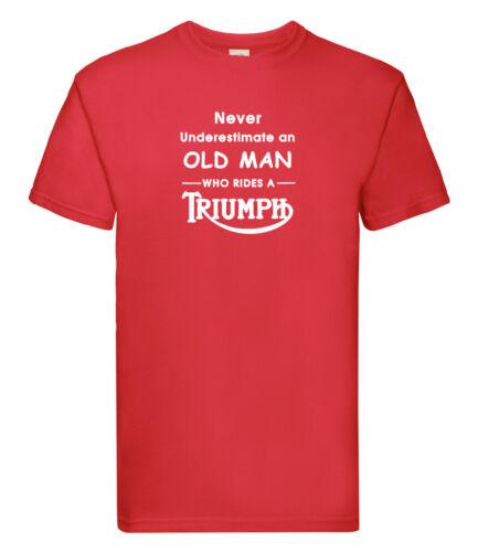 TRIUMPH T Shirt//Motorbike//Motorcycle//bikes//birthday//gift for him//men//dad//present