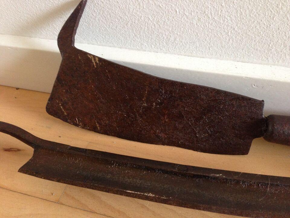 Andet håndværktøj, træ værktøj antik roekniv