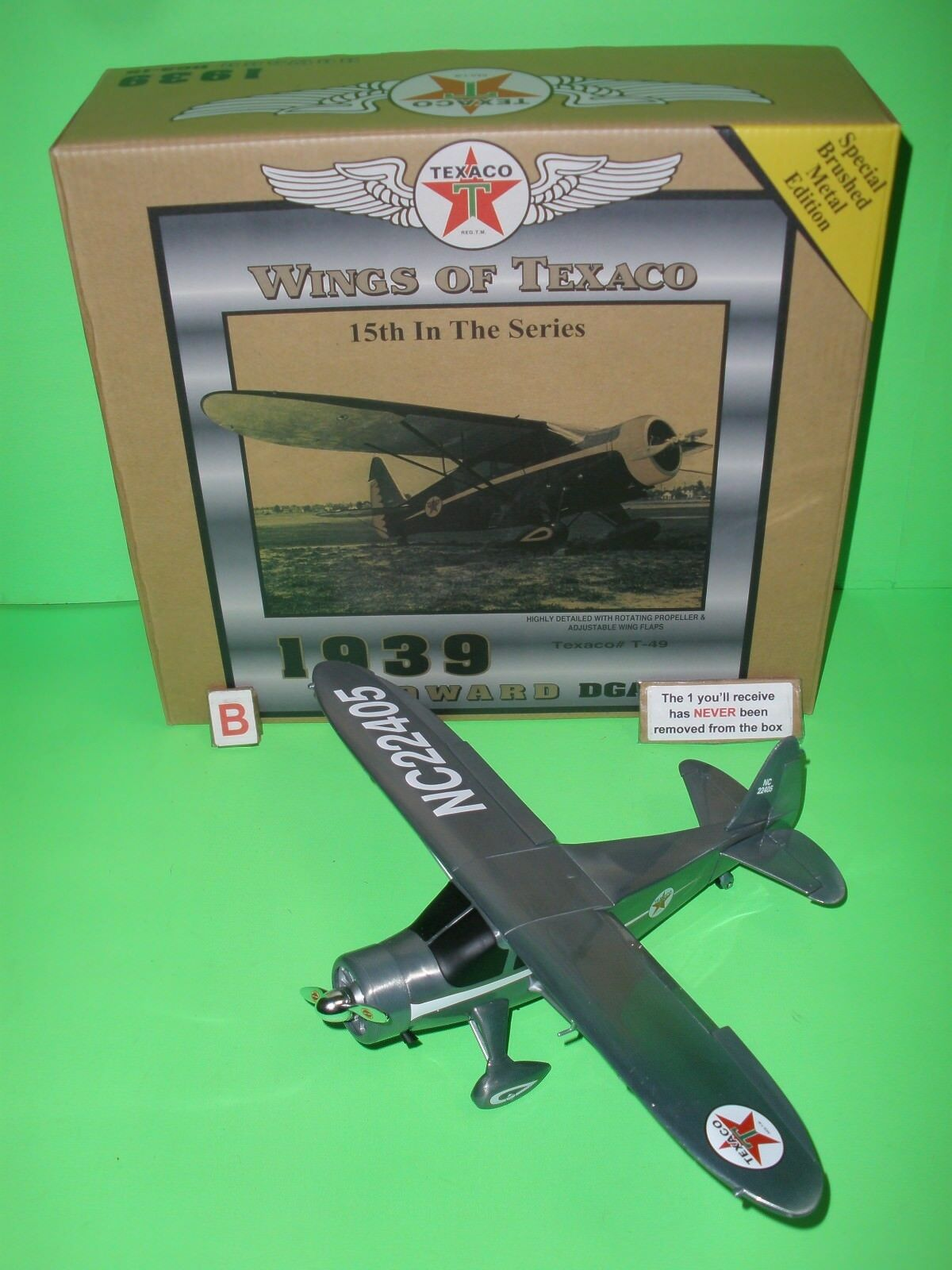 2007 WINGS OF TEXACO HOWARD DGA-15 AIRPLANE SPECIAL EDITION