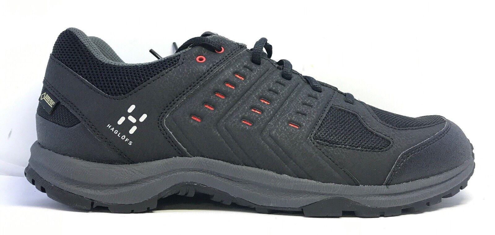 Haglofs Mens Motion Gt Black Lace Up Trainers Uk Size 10.5