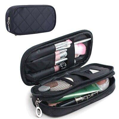 Small Makeup Bag For Purse Mirror Mini Pouch Travel Organizer Cosmetic Case | eBay