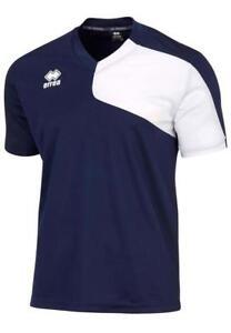 Q26. New Men/'s ERREA Trafford Training Top Blue//White L