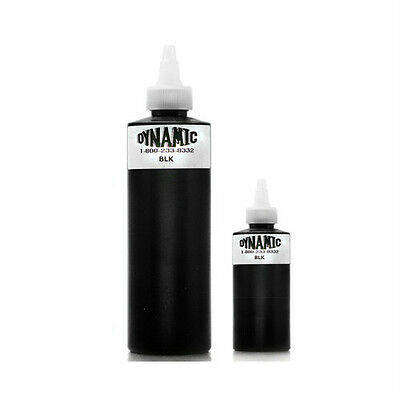 DYNAMIC BLACK LINING SHADING Tattoo Ink Supply Tribal Dark Blackest Equipment