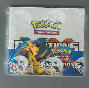 Pokemon-Evolutions-XY-sealed-unopened-booster-box-36-packs-of-10-cards