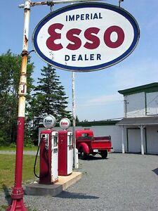 197-i VINTAGE GAS STATION PHOTO Pepsi Signing