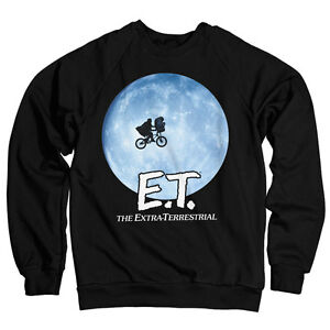 Officially Licensed E.T Bike In The Moon Men/'s T-Shirt S-XXL Sizes