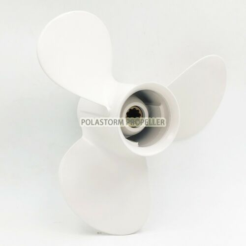 Aluminum Outboard Propeller 9 7//8X13 pitch for Yamaha 20-30HP 664-45949-02-EL