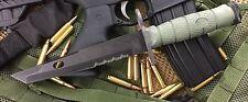 NEW OKC-10 Ontario Tanto Bayonet Knife Ar Carbon Steel US Army With Kydex Sheath