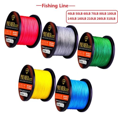 300M 40LB-310LB Super Strong Spectra PE 9 Strands Braided Sea//Rock Fishing Line